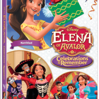Make It A Celebration Fit For A Princess And Bring Home  Elena of Avalor: Celebrations To Remember- Now Available!
