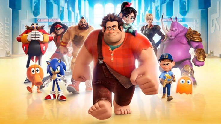 Ralph Breaks The Internet Wreck It Ralph 2-