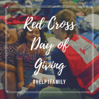 Help 1 Family Because Someday It Could Be You- Join Us In Supporting Red Cross Giving Day Saving Lives One Family At A Time #helpfamily #ad