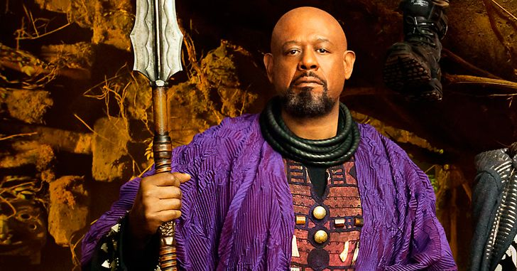 Black Panther FOREST WHITAKER [ZURI]