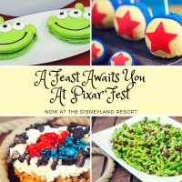 Pixar Inspired Food Creations Mean You'll Never Be Hungry At Pixar Fest Now At The Disneyland Resort