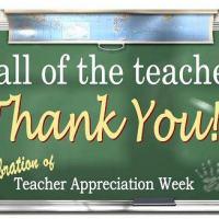 Exclusive Discounts Just For Teachers In Honor Of  Teacher's Appreciation Week!