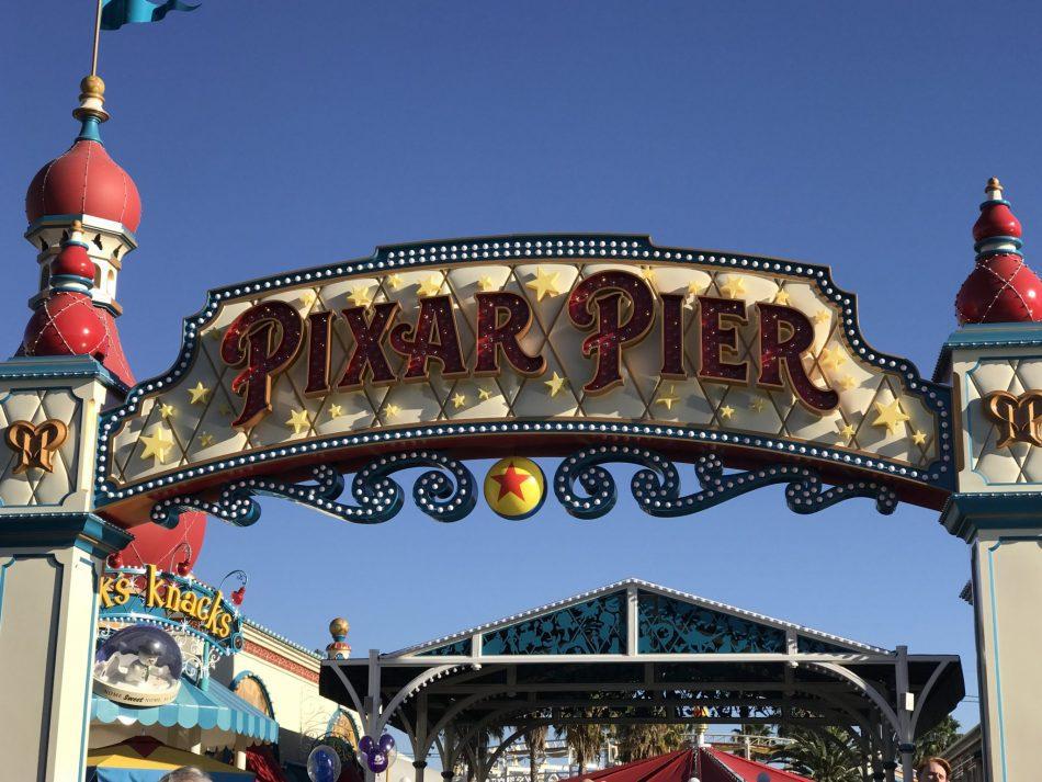 Disney California Adventure Park Disneyland Pixar Pier