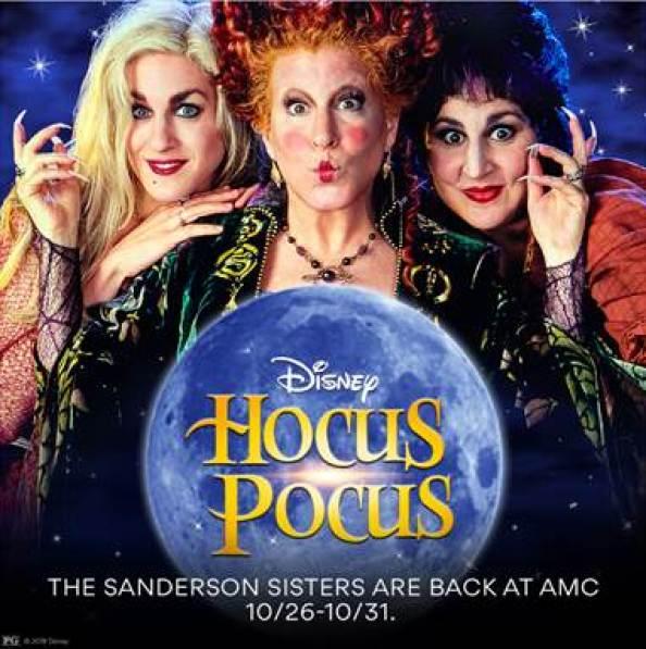 Theaters Hocus Pocus Halloween Movies