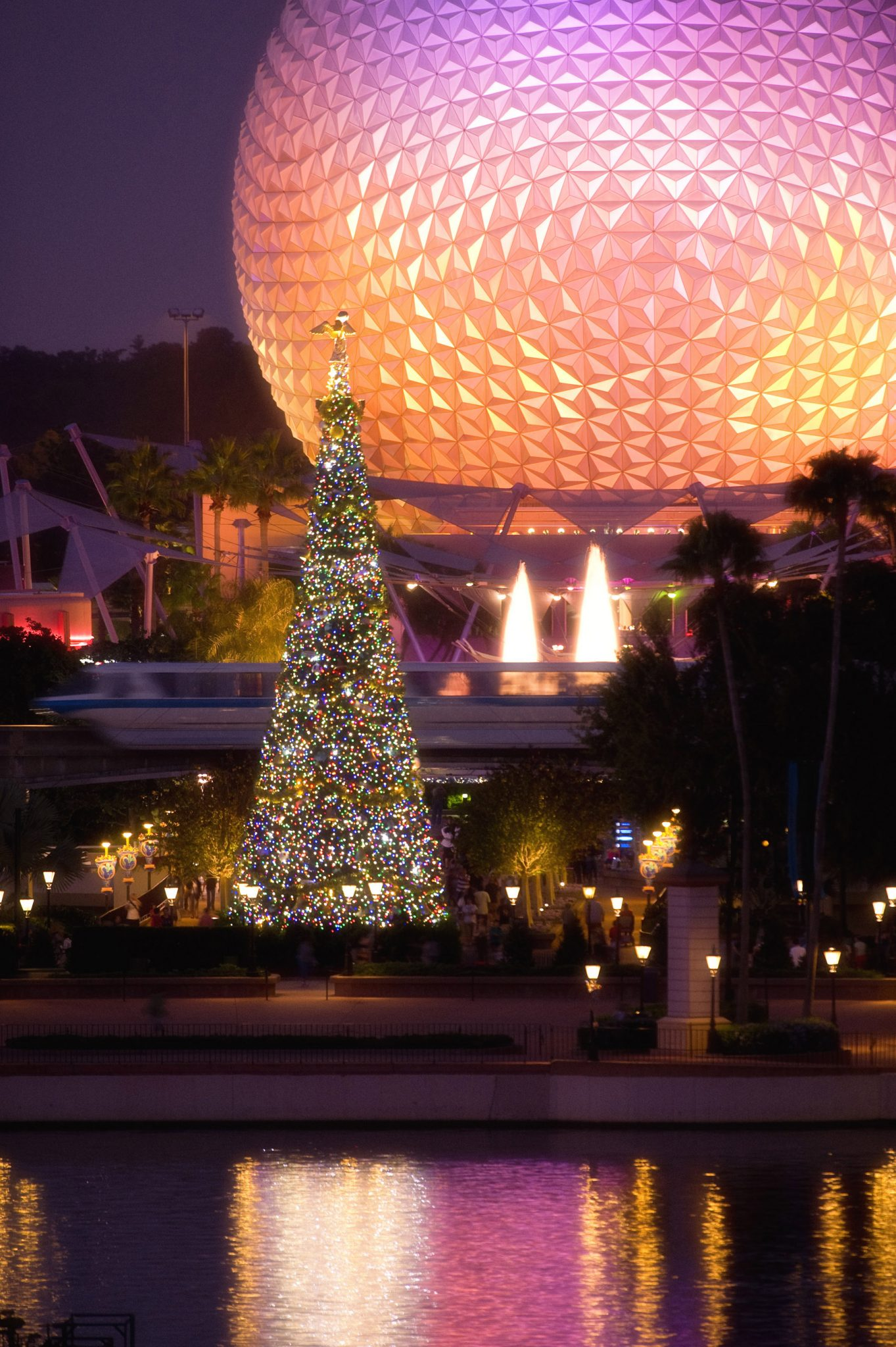 Epcot Walt Disney World Christmas