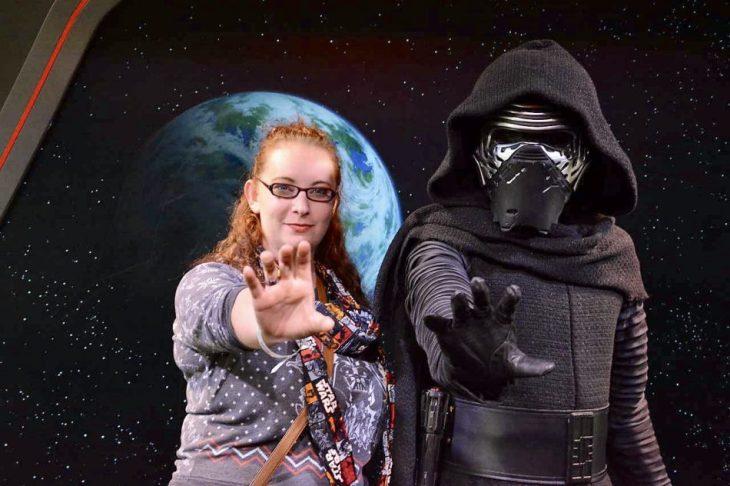 Kylo Ren Character Meet and Greet Star Wars Launch Bay Disney's Hollywood Studios Disney After Hours #DisneyAfterHours