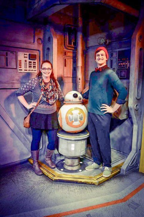 Star Wars Launch Bay Character Meet And Greet BB8 Disney's Hollywood Studios Disney After Hours #DisneyAfterHours