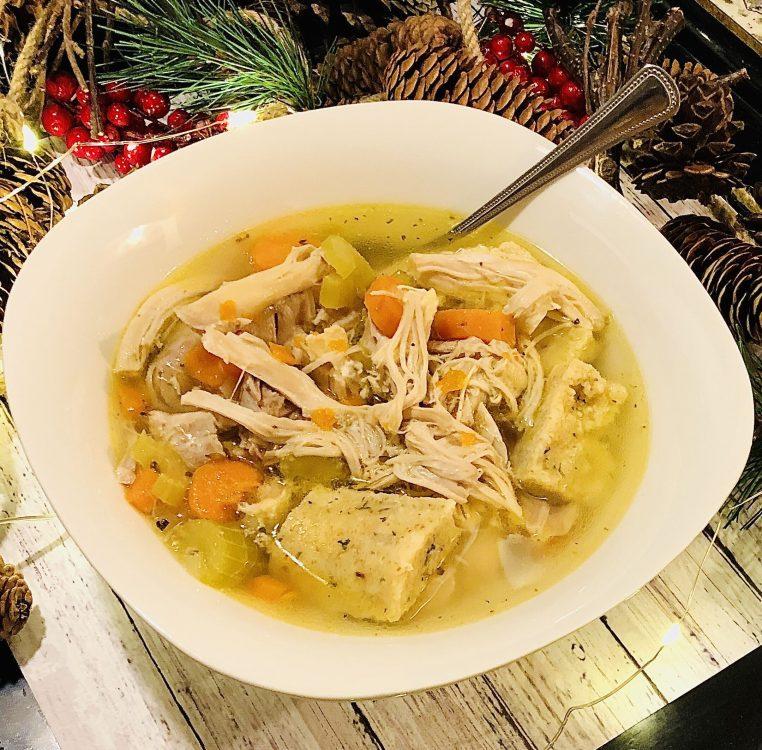 quick and easy instant pot italian chicken n dumplings