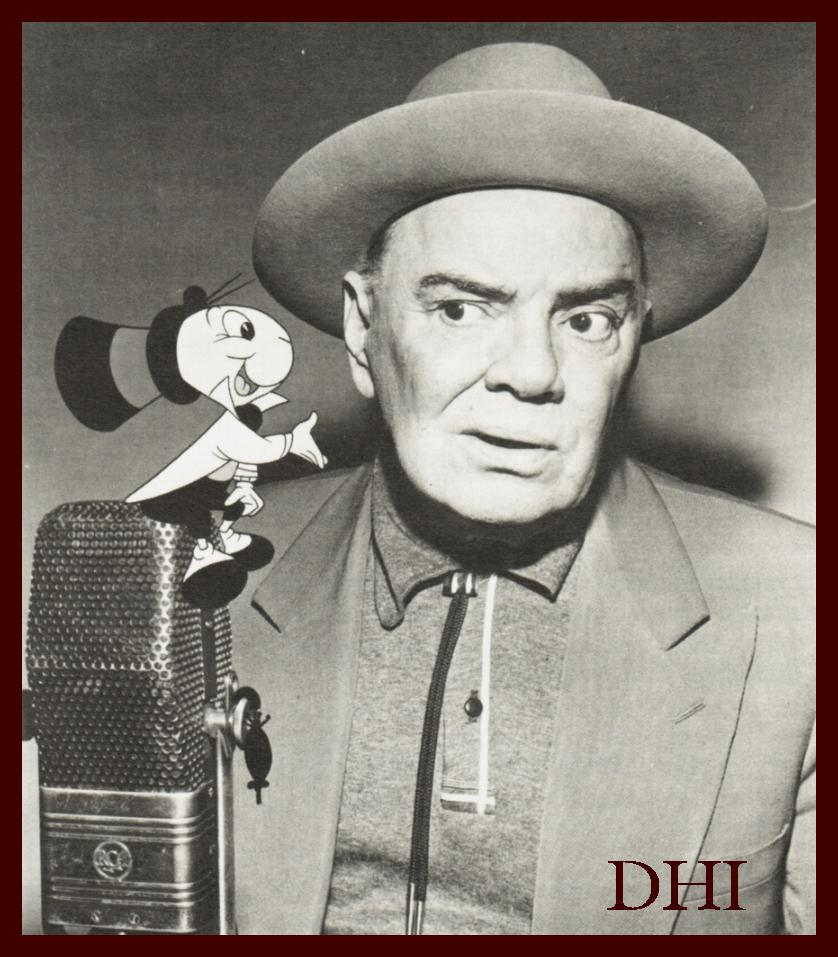 SPEAKING OF CHARACTERS Cliff Edwards Disney History Institute