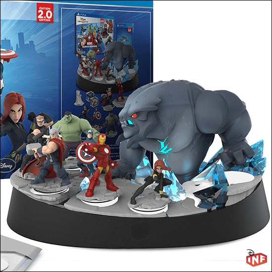 disney infinity 2.0 ce – counterattack games
