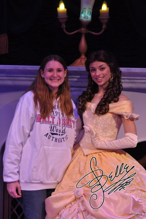 Where to meet Belle - Disney in your day