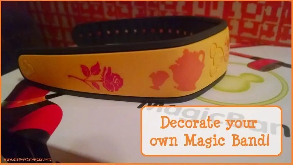 Crafty Corner Decorating Your Magic Bands Disney In Your Day