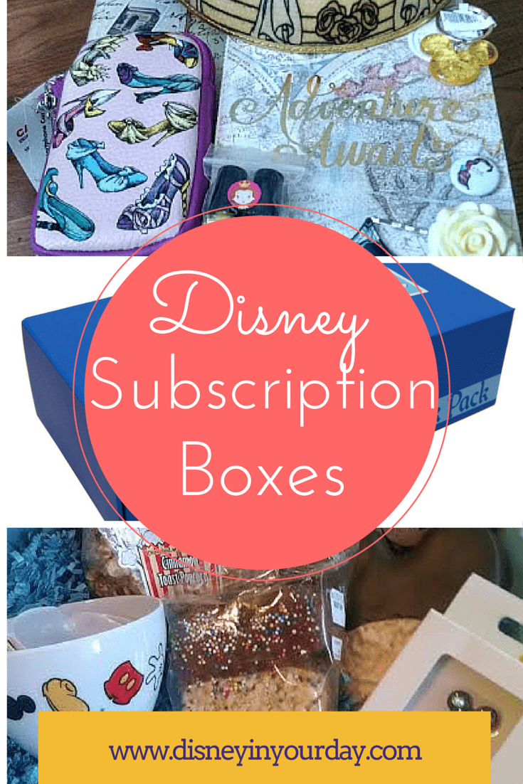 Disney Subscription Boxes & Disney Subscription Boxes - Disney in your Day