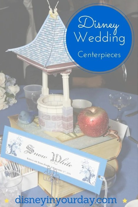 Disney wedding centerpieces - Disney in your Day