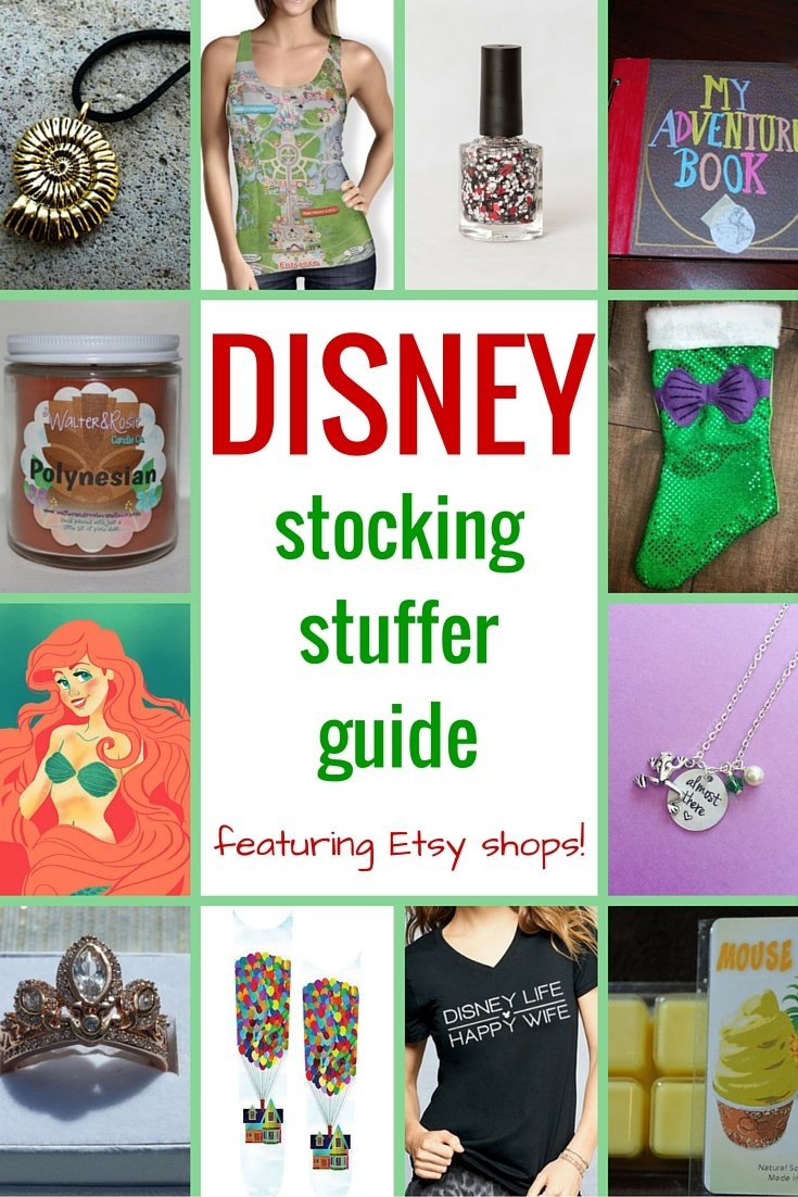 Disney Stocking Stuffers Guide - Disney in your Day