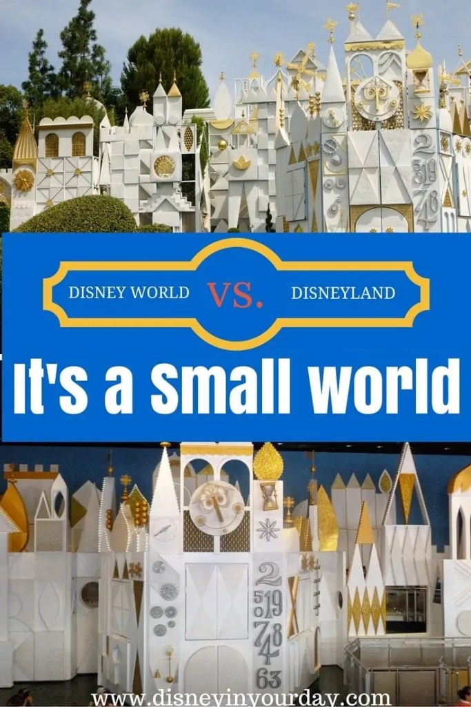 Disney World vs. Disneyland: It's a Small World