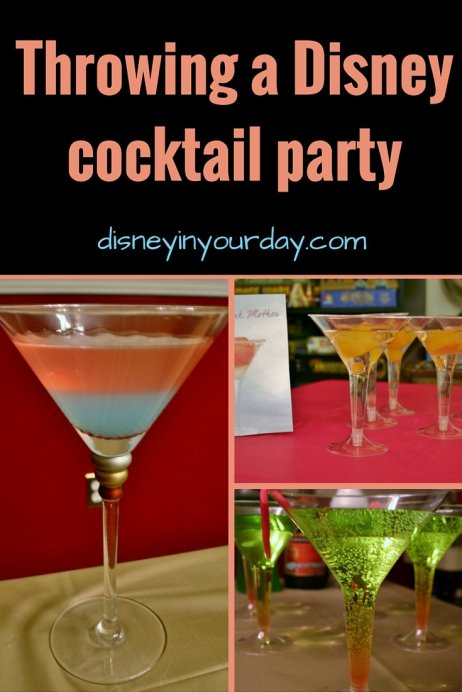 Disney cocktail party - Disney in your Day