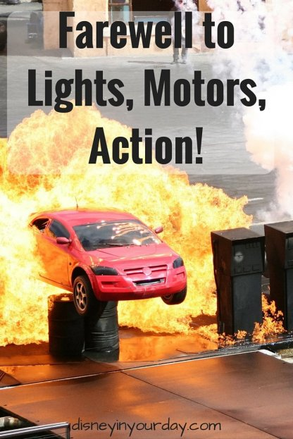 Farewell to Lights, Motors, Action!