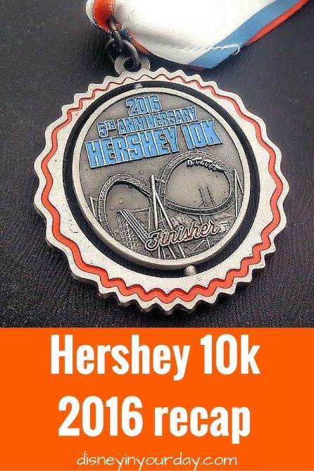 Hershey 10k 2016 recap