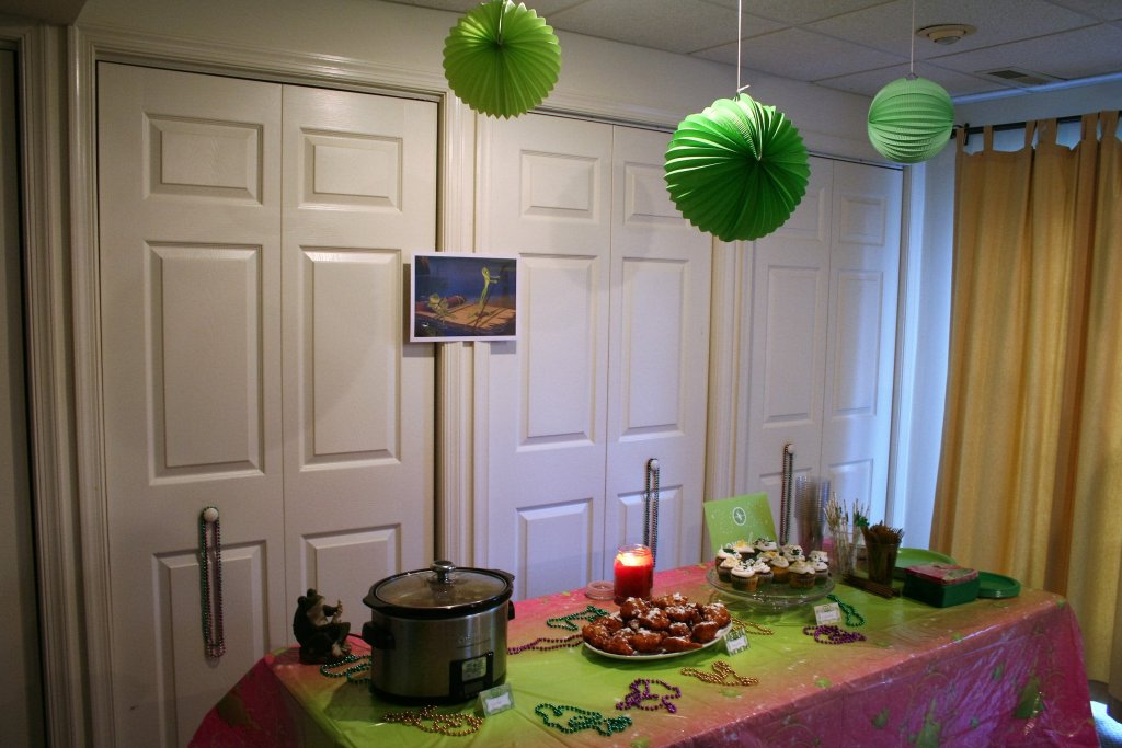 Princess and the Frog birthday party - Disney in your Day
