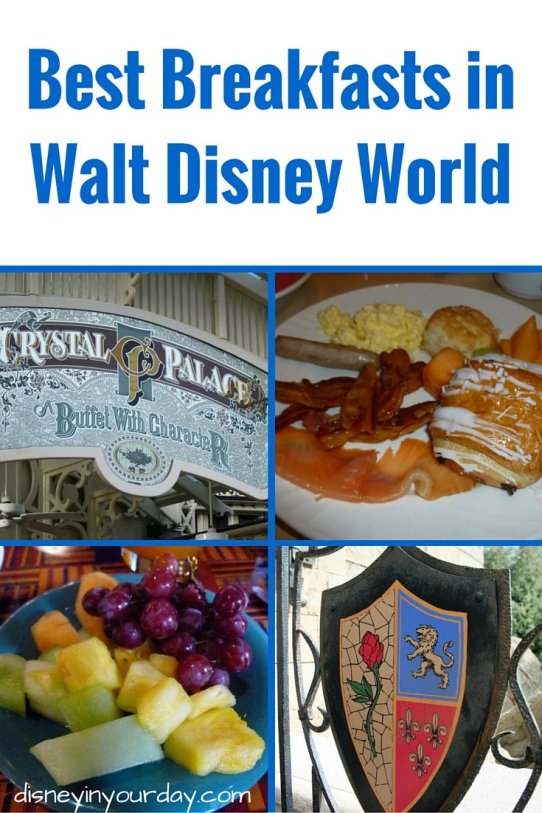 Best breakfasts in Disney World - Disney in your Day