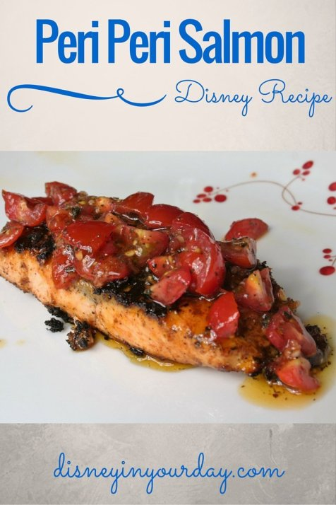 Peri Peri salmon - Disney in your Day