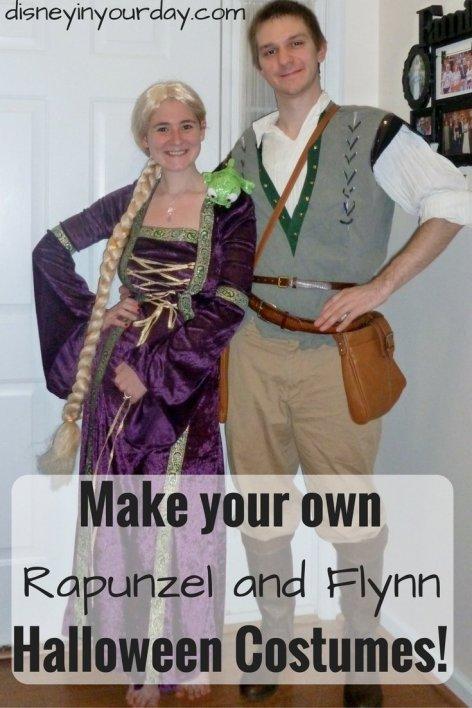 rapunzel halloween costume disney in your day