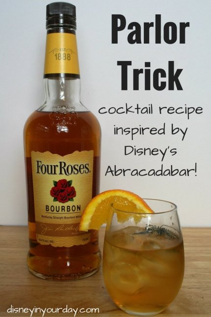 parlor trick Abracadabar - Disney in your Day