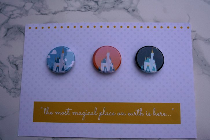 Plane Crazy Button Club - Disney in your Day