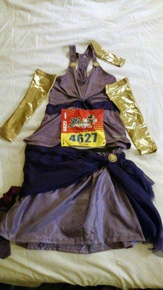 Megara running costume - Disney in your Day