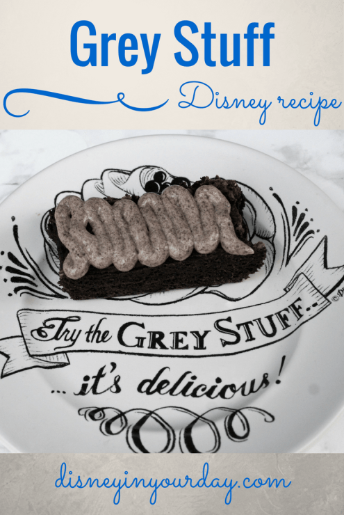 Grey stuff recipe - Disney in your Day