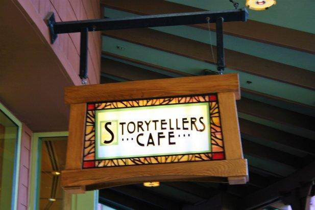Storyteller Cafe breakfast - Disney in your Day
