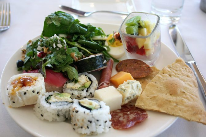 brunch at California Grill - Disney in your Day