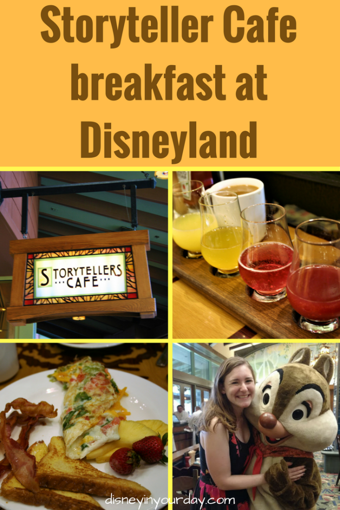 Storytellers Cafe breakfast at Disneyland's Grand Californian hotel
