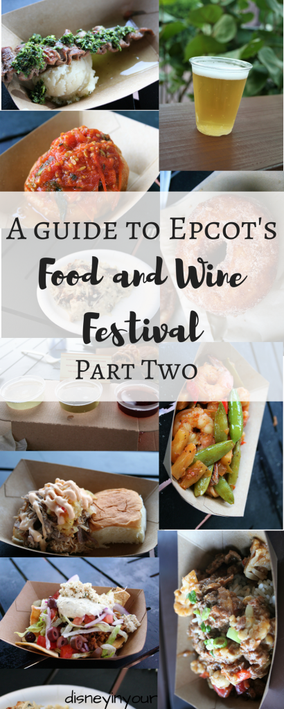 Food and Wine booths: Islands of the Caribbean, Refreshment Port, New Zealand, Australia, The Almond Orchard, Patagonia, Hawaii, Farm Fresh, Greece, Thailand