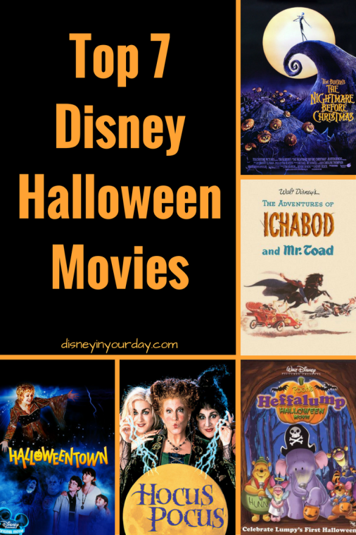 do you have any fun halloween plans this weekend if youre just hanging out around the house consider popping on one of these popular disney movies that