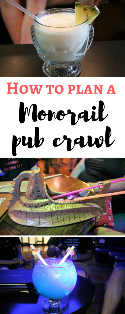 monorail pub crawl - Disney in your Day