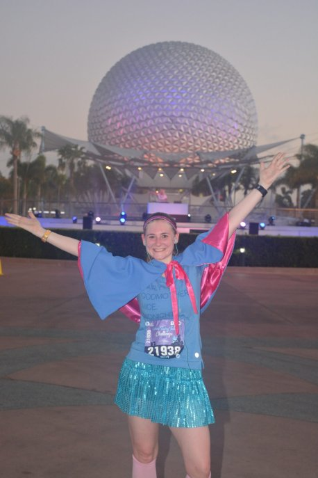 Fairy godmother running costume - Disney in your Day