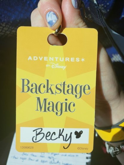 Backstage Magic tour - Disney in your Day