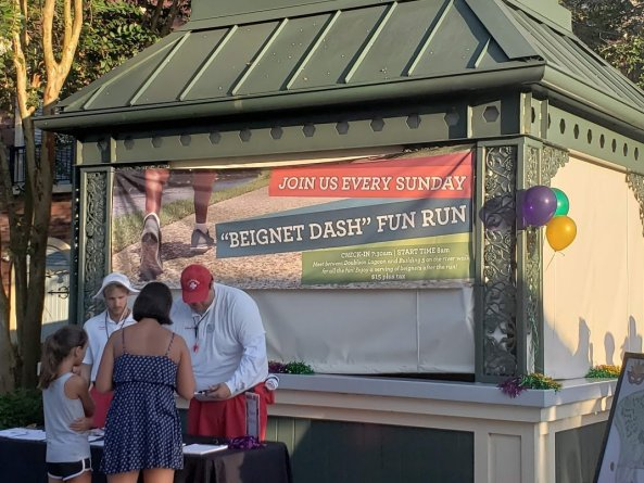 Beignet Dash - Disney in your Day