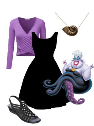 Ursula Disney Bound - Disney in your Day