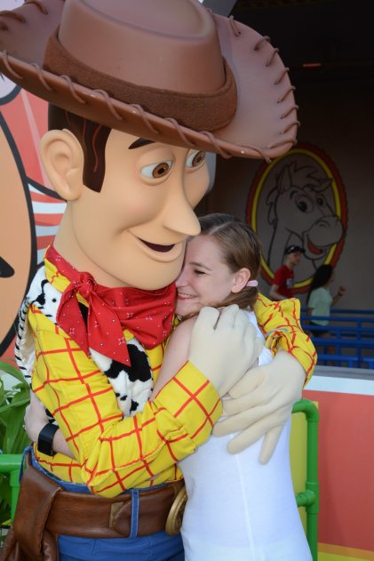 Where to meet Woody - Disney in your Day