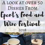 Epcot Food and Wine Festival 2018