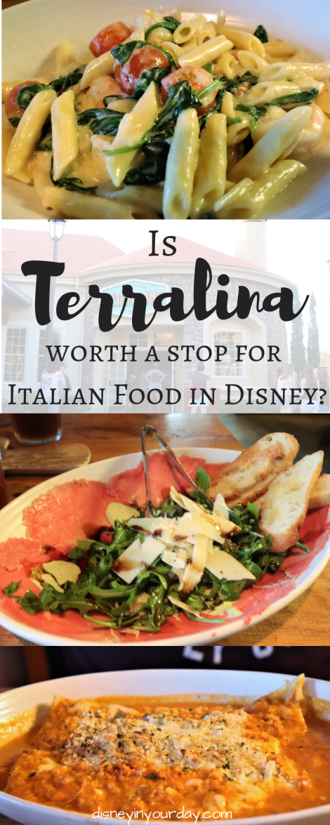 Terralina Crafted Italian - Disney in your Day
