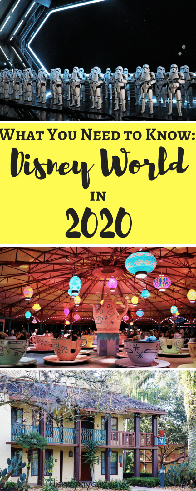2020 Disney World - Disney in your Day