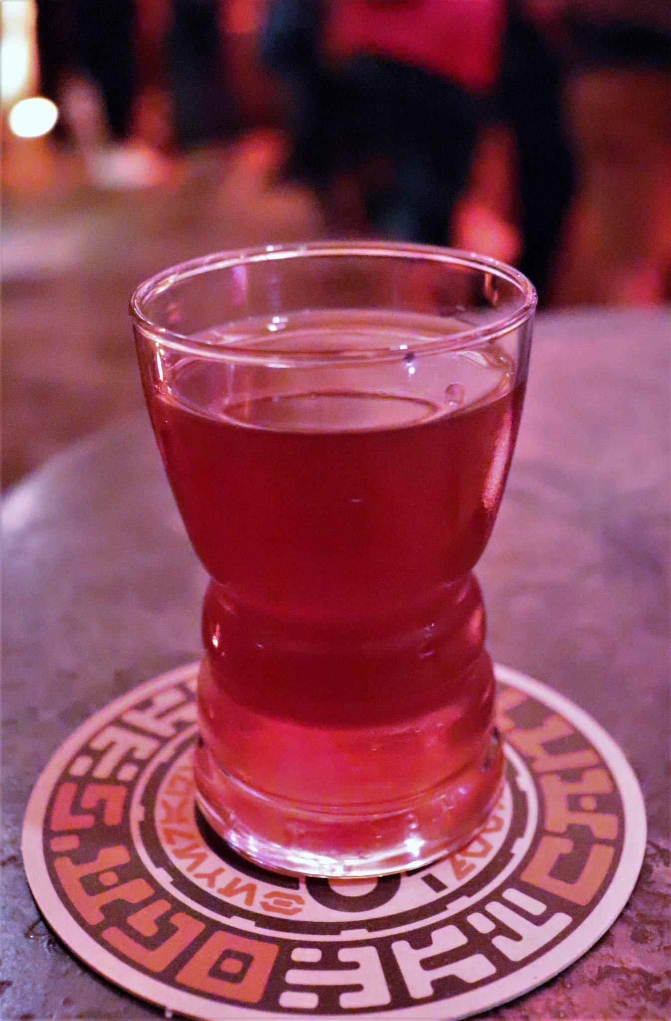 drinks at Oga's Cantina - Jet juice