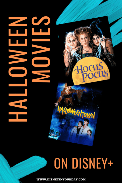 Halloween movies on Disney+ - Disney in your Day