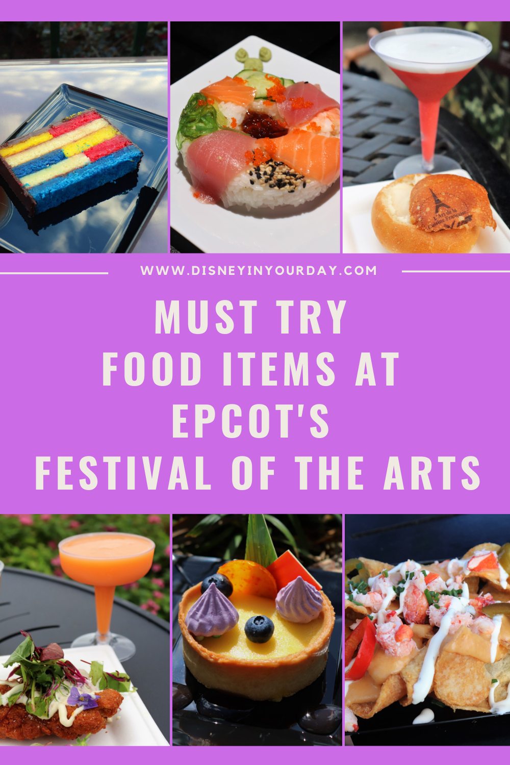 Must Eats At Epcot S 2021 Festival Of The Arts Food Booths This Year Disney In Your Day
