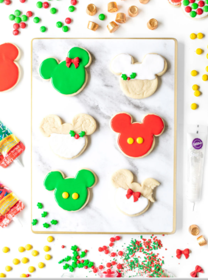 Disney Christmas cookie recipes - Disney in your Day