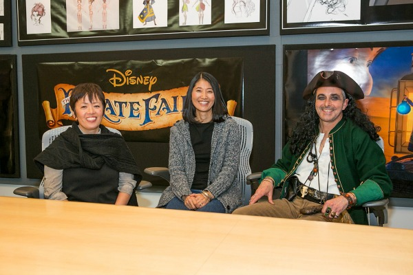 Los animadores de Hada Pirata The Pirate Fairy - old.disneylandiaaldia.com